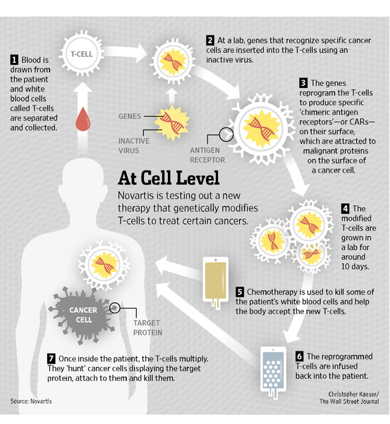 Novartic CAR T-Cell therapy
